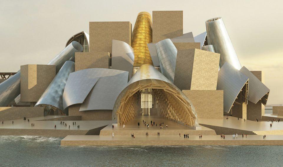 Guggenheim Abu Dhabi in 2022