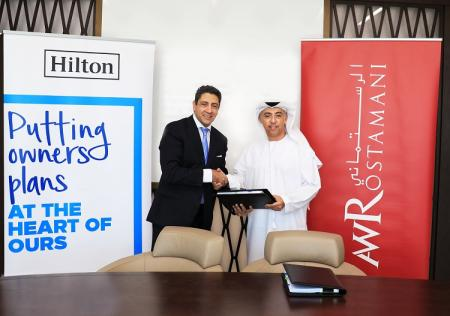 Hilton and AW Rostamani Group to develop 458-room hotel in Bur Dubai