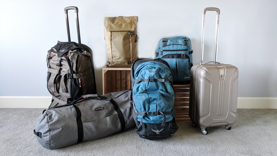 Travel Bags & Backpacks