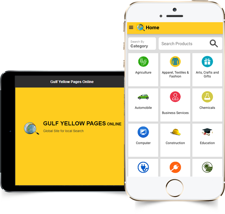 Gulf Yellow Pages Mobile Application